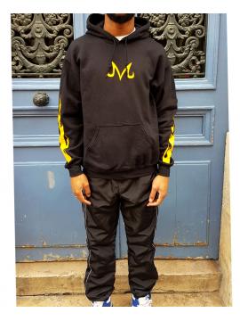 RXL Paris Majin Vegeta Hoodie Black