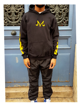 RXL Paris Majin Vegeta Sweat A Capuche Noir