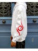 RXL Paris Uchiha Clan Sweat A Capuche Blanc