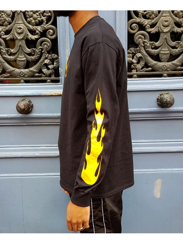 RXL Paris Majin Vegeta Tshirt Manches Longues Noir