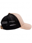 DSLINE Trucker Baseball Beige Suede / Or