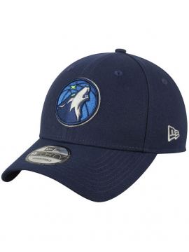 New Era Casquette 9Forty The League Minnesota Timberwolves Bleu Marine