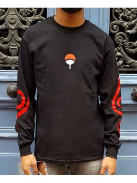 RXL Paris Uchiha Clan T-Shirt Long Sleeve Black