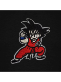 RXL Paris Goku Patch Brodé T-Shirt Noir