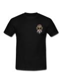 RXL Paris Tortue Géniale Patch Brodé T-Shirt Noir