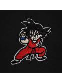 RXL Paris Goku Patch Brodé Sweat À Capuche Noir