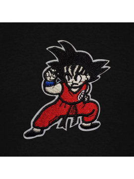 RXL Paris Goku Patch Brodé Sweat À Capuche Noir