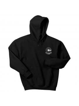 RXL Paris Capsule Corp Embroidered Patch Hoodie Black
