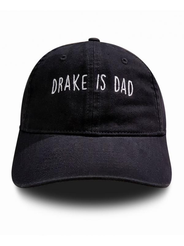 RXL Paris Drake Is Dad Dad Hat Black