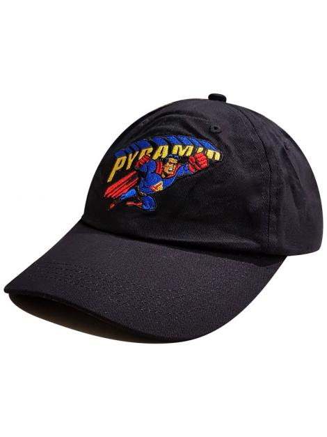 Black Pyramid Super Pyramid Dad Hat Black