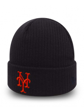 New Era Bonnet New York Mets Club Coop Bleu Marine