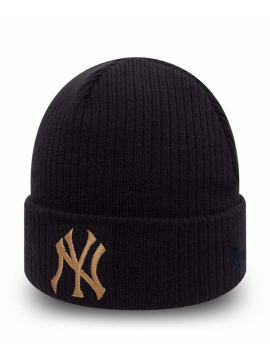 New Era Bonnet New York Yankees Club Coop Noir