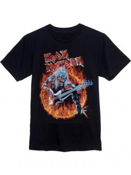 Iron Maiden Fear Of The Dark Tee Black