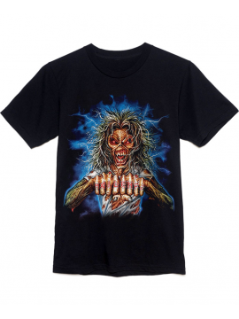 Iron Maiden Maiden FC Tee Black