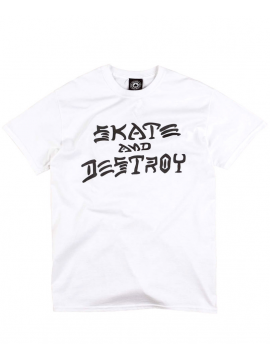 Thrasher Skate And Destroy Tee White