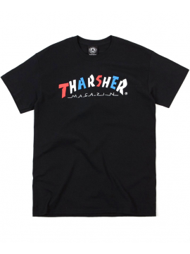Thrasher Knock Off Tee Black