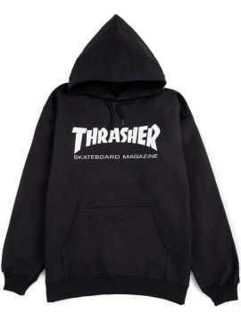 Thrasher Skate Mag Sweat À Capuche Noir