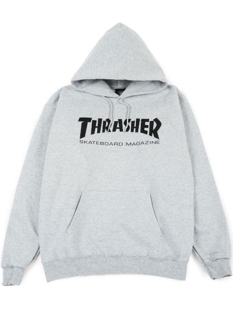 Thrasher Skateboard Magazine Logo Velours Souple Casquette Réglable Noir Blanc