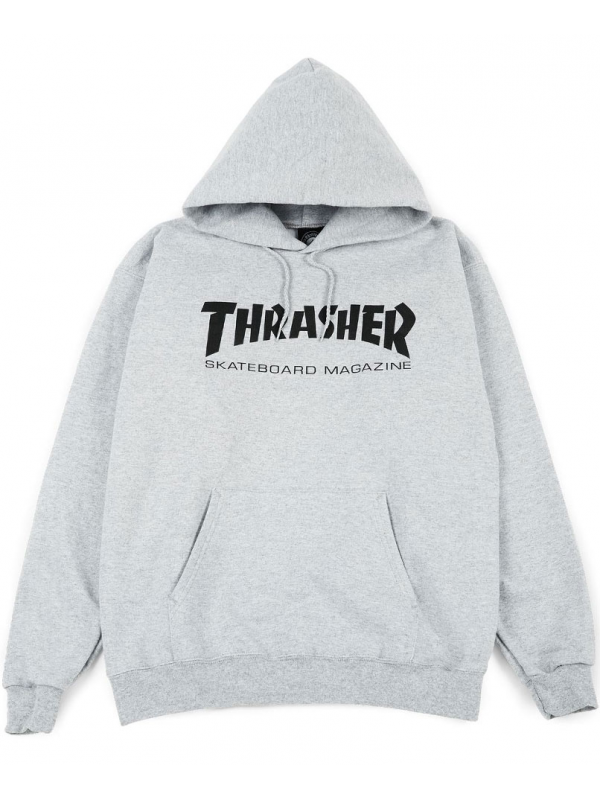 Thrasher - Sweat Capuche Skate Mag Gris