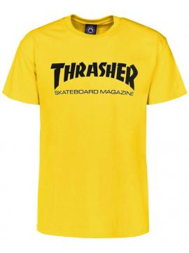 Thrasher T-Shirt Skate Mag Jaune