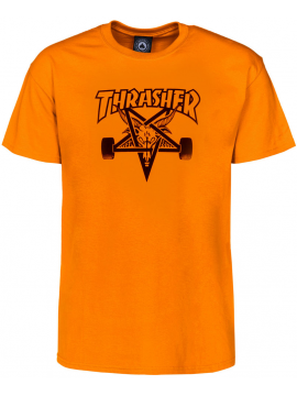 Thrasher Skategoat Tee Orange