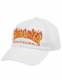 Thrasher Casquette Flame Old Timer Blanc