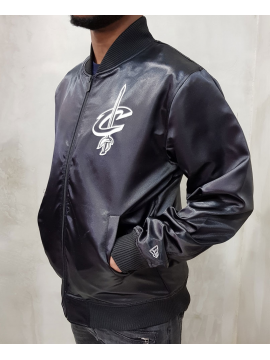 New Era Cleveland Cavaliers Sateen Bomber Black