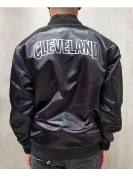 New Era Bomber Satin Cleveland Cavaliers Noir