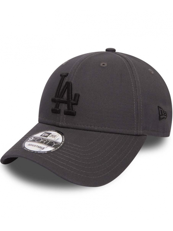 ac8ec6373107 New Era 9Forty Casquette Los Angeles Dodgers Essential Graphite