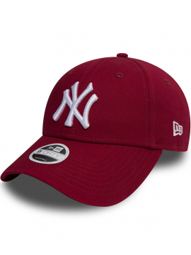New Era 9Forty Casquette New York Yankees Essential Rouge Cardinal ... 82a187a8505b