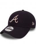 New Era 9Forty Atlanta Braves Essential Black
