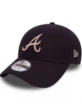 2746e41dfd7 New Era 9Forty Casquette Atlanta Braves Essential Noir ...