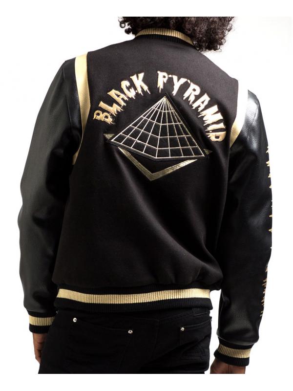 Black Pyramid Veste Universitaire Drip Logo Noir