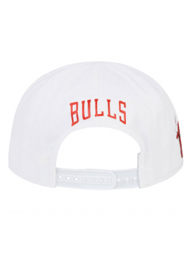 New Era Casquette Cycliste Chicago Bulls Blanc