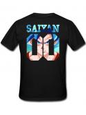 RXL Paris T-Shirt Saiyan Number Back Sangoku SSGSS Noir