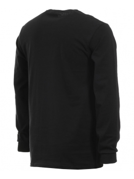 Thrasher Atlantic Drift T-Shirt L/S Black