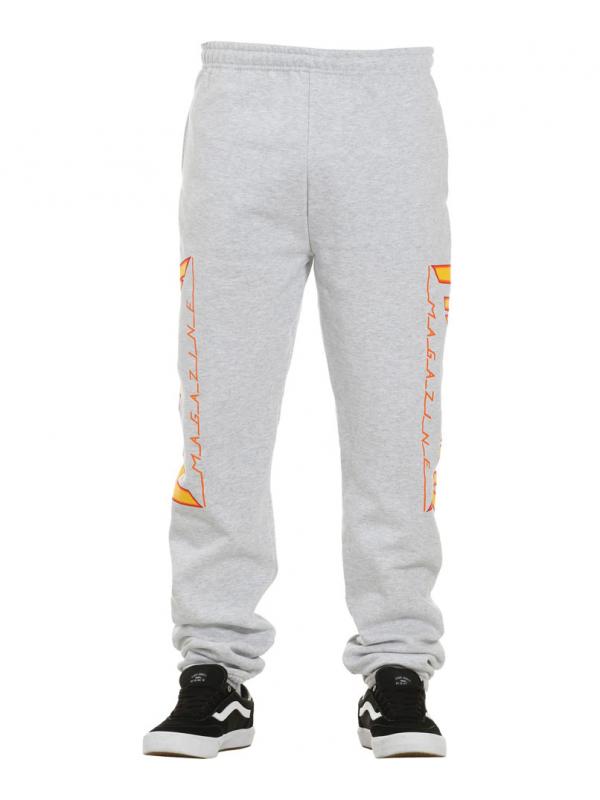 Thrasher Flame Pantalons De Survêtement Gris
