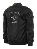 Thrasher Gonz Veste Réversible Noir Camouflage