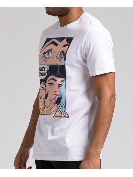 Black Pyramid Shes Calling SS T-Shirt Blanc