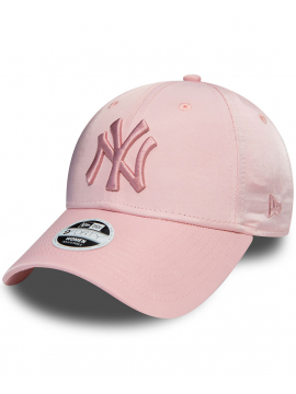 New Era 9Forty Women New York Yankees Satin Pink