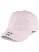 New Era Women 9Forty L.A. Dodgers Baseball Cap MLB Monogram Pink