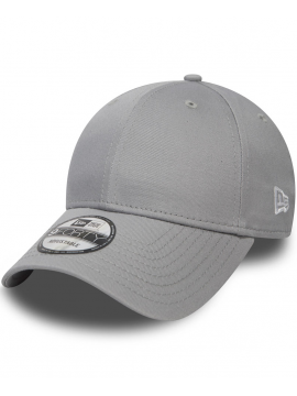 New Era 9Forty - Casquette 940 Basic Gris Incurvée