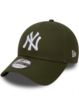 New Era 9Forty Essential New York Yankees Vert Kaki
