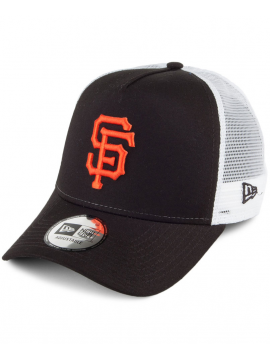 New Era Adjustable San Francisco Giants Team Essential Trucker Black