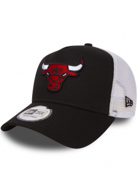 New Era Adjustable Chicago Bulls Team Essential Trucker Noir