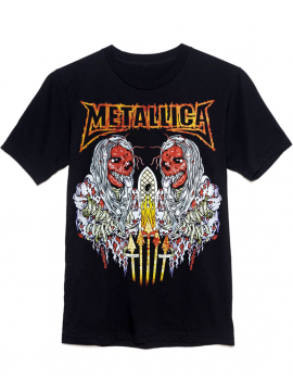 Metallica T-Shirt SANITARIUM Noir
