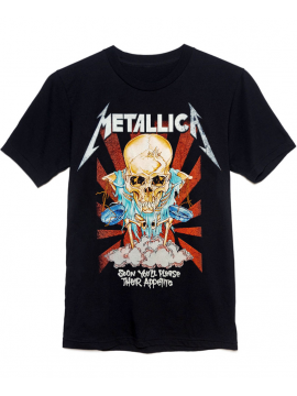 Metallica T-Shirt Soon You'll Please Their Appetite Noir