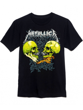 Metallica T-Shirt Sad But True Noir