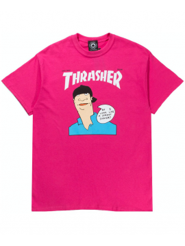 Thrasher Gonz Cover T-Shirt Pink