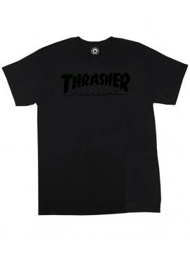 Thrasher Magazine Logo T-Shirt Noir